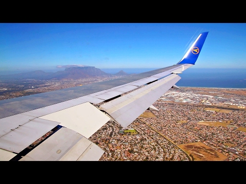 INCREDIBLE SCENERY | Condor Boeing 767-300WL Landing in Cape Town, South Africa!