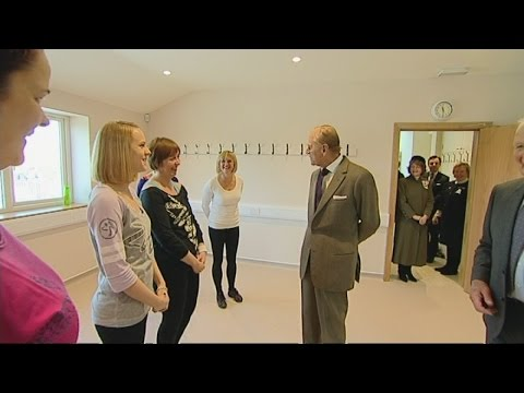 Prince Philip interrupts Zumba class to tell them they make him feel tired