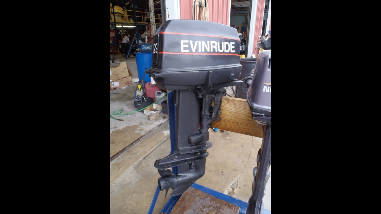 Evinrude 45 hp outboard motor for H and h motors