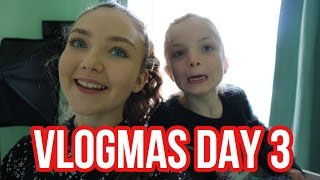 VLOGMAS DAY 3// I DON'T KNOW WHAT TO DO  Floral Sophia Vlogs