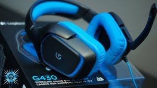 Logitech G430 7.1 Gaming Headset Unboxing & Overview