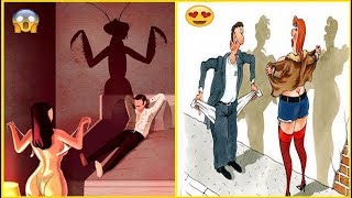 Most Funny Cartoon Photos Of All Time | Comics illustrations