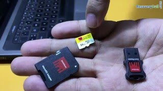 Formatted or corrupted 64GB Memory Card Data Recover