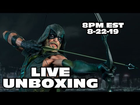 UNBOXING THE SIDESHOW GREEN ARROW PREMIUM FORMAT