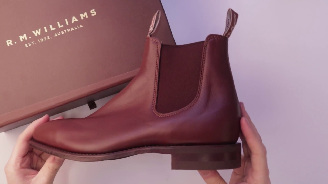 d45081e8906 RM Williams Comfort Craftsman Boots Unboxing in Dark Tan