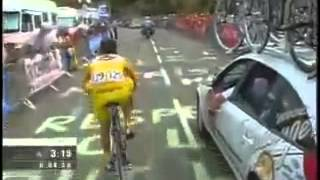 TDF 2004 Thomas Voeckler vs Lance Armstrong
