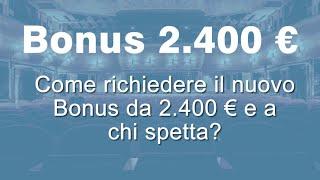 Ecco i nuovi bonus ufficiali inps del decreto sostegni 2021? ultime notizie su requisiti delle indennità di 2400 euro. purtroppo dal testo, non ci sono ...