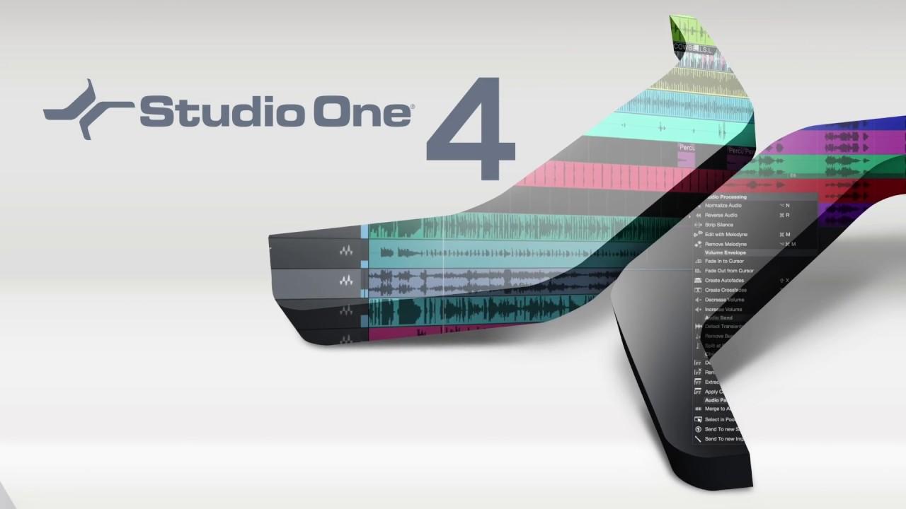 Presonus Studio One Professional 4 Free Download