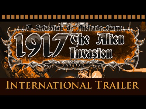 1917 - The Alien Invasion: Gameplay Trailer [Shmup / Shoot 'Em Up 2016]