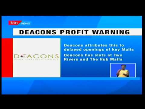 KTN Prime: Deacons east Africa issues a profit warning following a slump in sales and stall delays