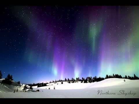 Northern Lights over Ivalo, Finland - Timelapse