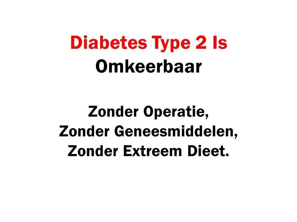 operatie diabetes type 2