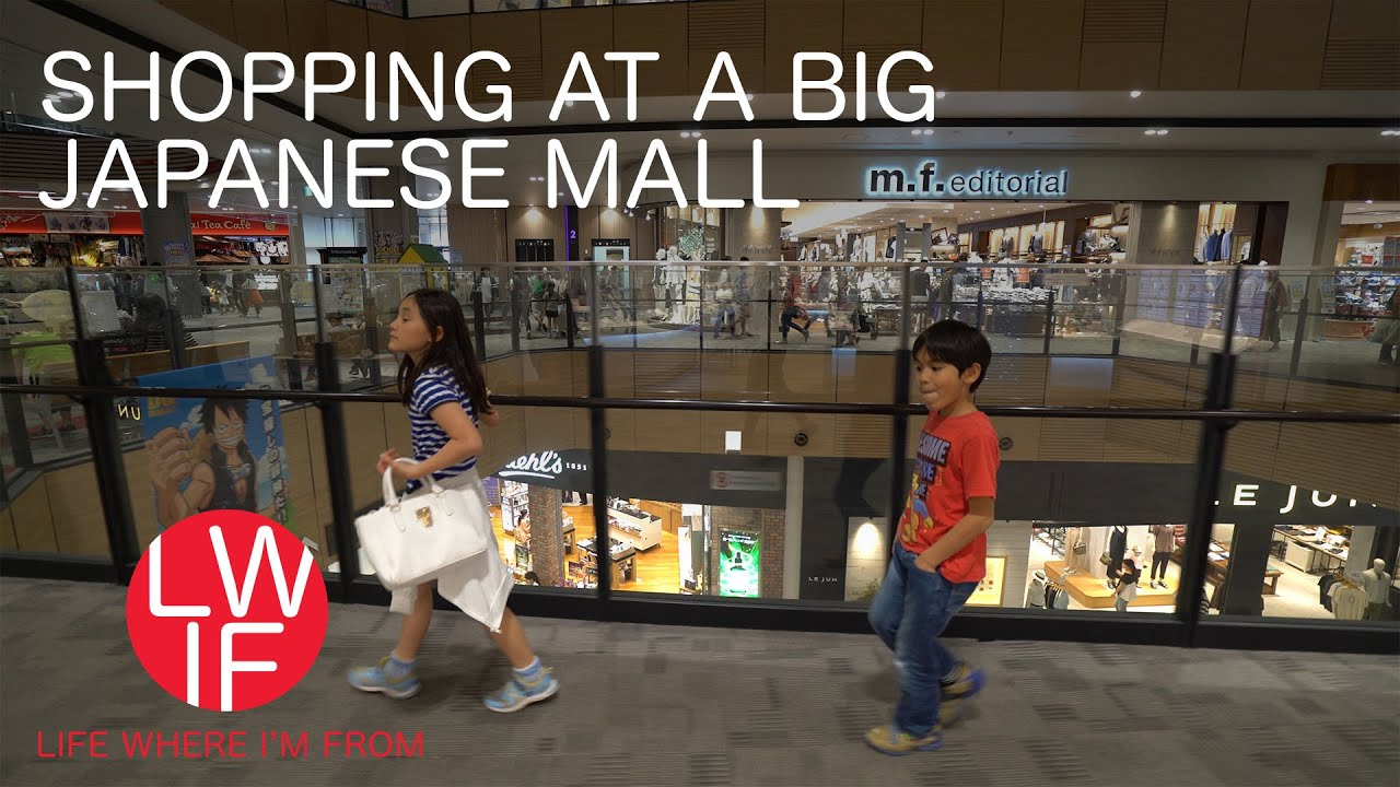 6e0b9ed2b7f Shopping at a Big Japanese Mall - YouTube