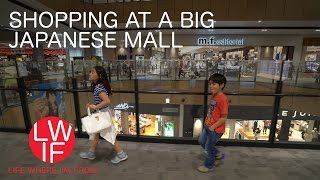Shopping at a Big Japanese Mall
