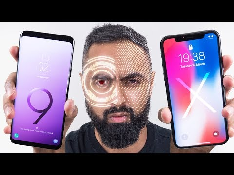 Intelligent Scan vs Face ID - Galaxy S9 vs iPhone X
