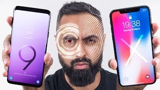 Intelligent Scan vs Face ID - Galaxy S9 vs iPhone X
