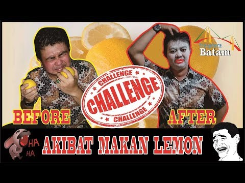 Tantangan Makan Lemon Sampai Dower