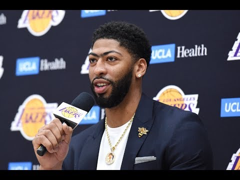 Best Moments From Anthony Davis' Introductory Lakers Press Conference