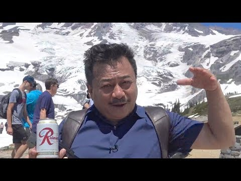 Leo núi MOUNT RAINIER ở WASHINGTON STATE- MC VIỆT THẢO-CBL(729)- SEPT 30, 2018