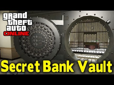 GTA Online - SECRET BANK VAULT (First Heist Location?) [GTA V Multiplayer]