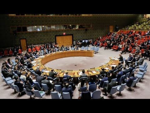 UN Security Council meeting on Syria
