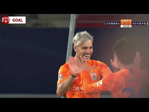 Roger Guedes 98' - Shandong Luneng [3] - 2 Hebei CFFC (AGG [5] - 4)