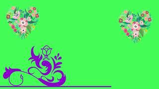 Top Heart On Green Screen II Love Green screen effects II no copyright 2019 1280x720 HD