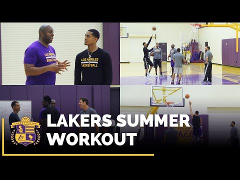 Lakers Summer Workouts: Magic Johnson, Lamar Odom Working With Larry Nance Jr., Jordan Clarkson