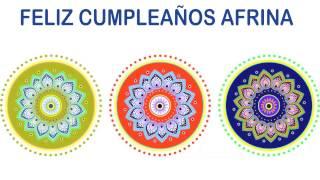 Afrina   Indian Designs - Happy Birthday