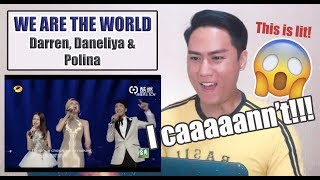Download Polina Gagarina, Daneliya Tulyeshova, Darren Espanto - We Are The World | REACTION Mp3 and Videos