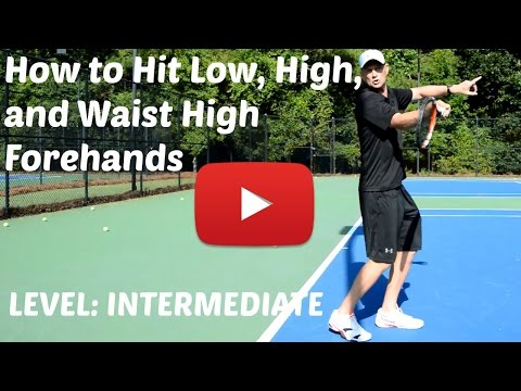 3 Essential Forehands For Any Tennis Player