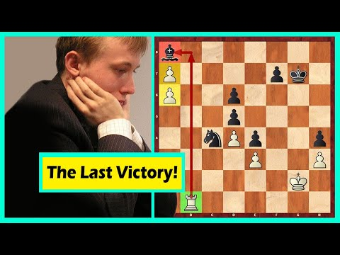 The Last Known Win By A Human Against A Top Performing Chess Computer