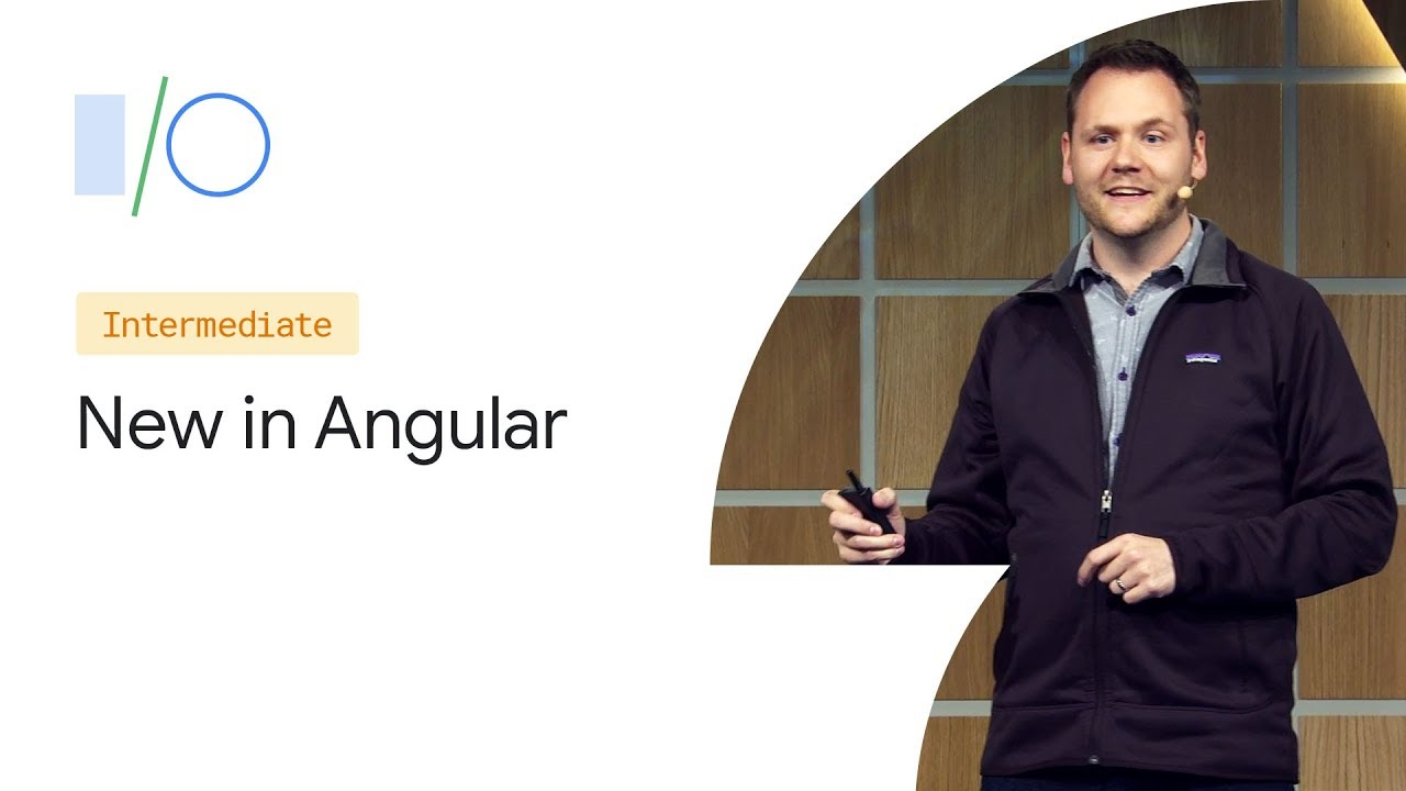 What's new in Angular (Google I/O '19) image