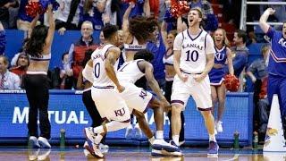 Mykhailiuk buzzer-beater downs K-State // Kansas Basketball // 1.3.17