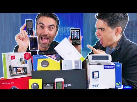 Reaccionando A TELÉFONOS HISTÓRICOS!!!!!!! 2° Parte