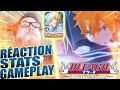 RÉACTION STATS & GAMEPLAY ICHIGO BLUT VENE - BLEACH BRAVE SOULS