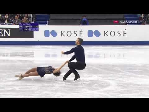 2017 GPF   Pairs   SP   Meagan Duhamel & Eric Radford   With or without you by U2
