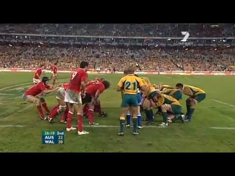 Rugby Test Match 2007 (1st) - Australia vs. Wales