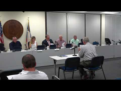 August 24, 2017 meeting of the Weather Modification Advisory Committee