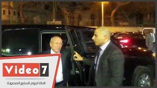 وزير الإنتاج الحربى ومصطفى الفقى ورشوان والعدل يشاركون فى عزاء هيكل