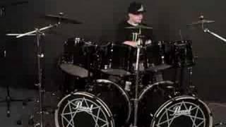 Joe drumming Red Hot