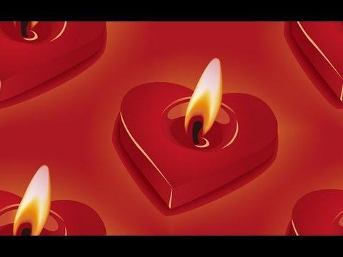 Красивые свечи своими руками  Свечки сердечки