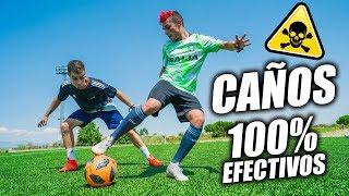 CAÑOS 100% EFECTIVOS PARA HUMILLAR A TU RIVAL - Como hacer Caños/Túneles en el fútbol