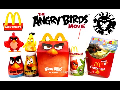 2016 Mcdonald S Everything Angry Birds Movie Happy Meal Action Bird
