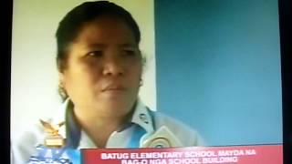 NEW BATUG ELEMENTARY SCHOOL (DULAG LEYTE) -TV PATROL TACLOBAN