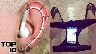 Top 10 Dumbest Life Hacks