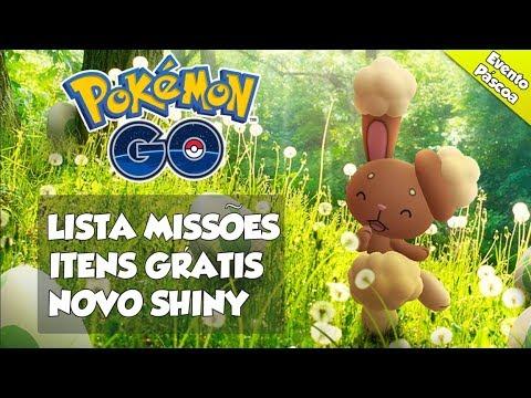 LISTA DE MISSÕES, ITENS GRÁTIS + NOVO SHINY -  Pokémon Go | PokéNews thumbnail