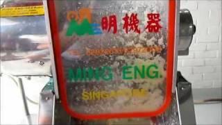 Pineapple Grinder - Ming Engineering Pte Ltd