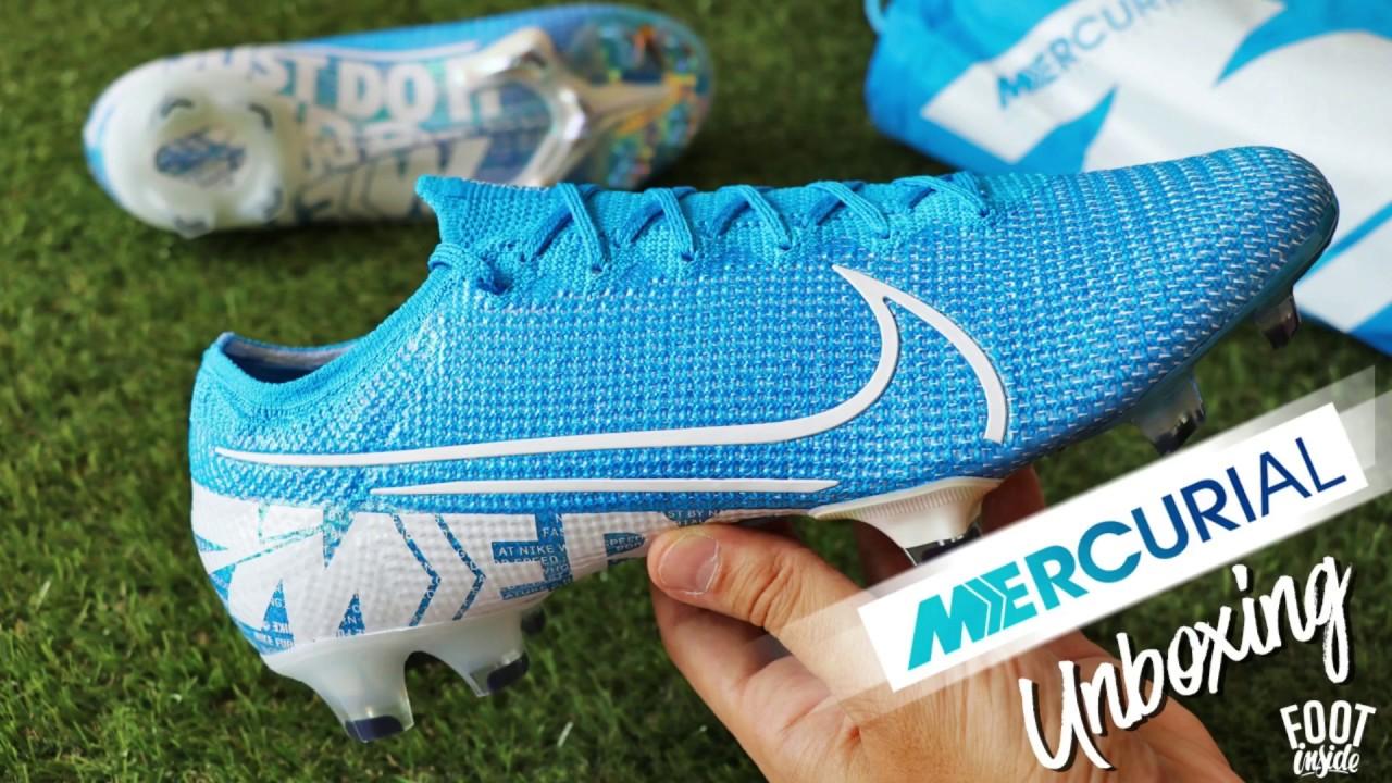 Imperativo ANTES DE CRISTO. mucho  Unboxing Nike Mercurial Vapor 13 Elite FG - 2019 - YouTube