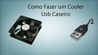 Como Fazer um Cooler USB Caseiro (Fácil)